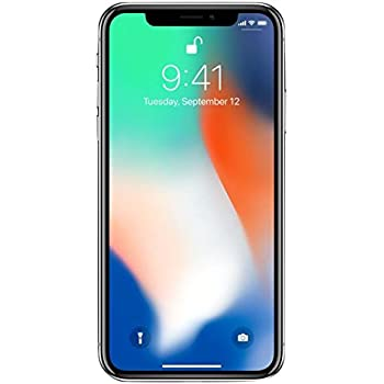 Amazon.com: Apple iPhone X, completamente desbloqueado de 5,8