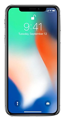 Apple iPhone X, Fully Unlocked 5.8', 64 GB -...
