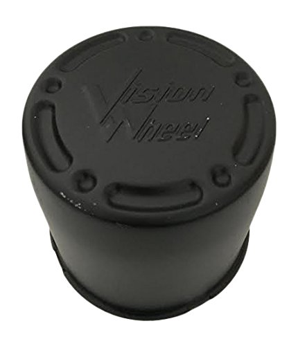 Vision Wheels C715R Matte Black Center Cap