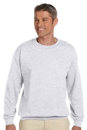 Hanes Adult Ultimate Cotton Crew, Ash, (Ash School Pride T-shirt)