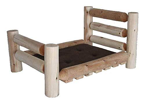 (Lakeland Mills 307726-OG-92973-O-415582 Pet Bed, Medium: 40 L x 30 W x 20 H (30 lbs.), Brown)