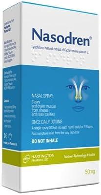 NASODREN Nasal Spray fast&effective treatment for sinusitis (acute or chronic) SHIP WORLDWIDE BY CIRCLE SHOP
