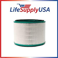 LifeSupplyUSA Replacement HEPA Filter for Dyson 2nd Generation Desk Air Purifiers Pure Cool Link Desk, Pure Hot+Cool Link Hot Cool Purifiers