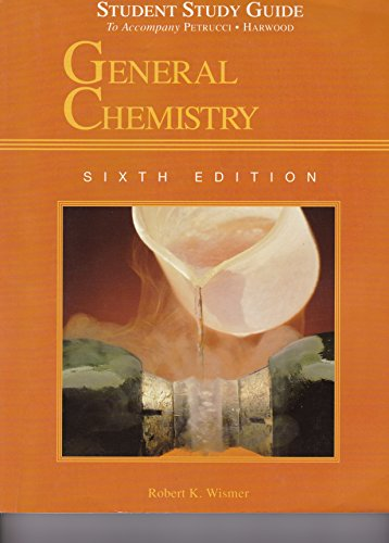 General Chemistry: Principles and Modern Applications/Study Guide