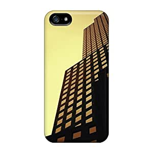 DaMMeke Fashion Protective Buildings Case Cover For Iphone 5/5s