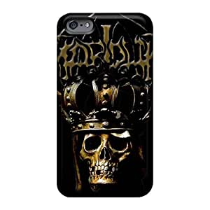 Shock Absorbent Hard Cell-phone Cases For Iphone 6plus With Custom Trendy Mayhem Band Skin TimeaJoyce