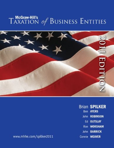 Taxation of Business Entities, 2011 edition