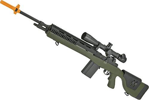(Evike G&P M14 DMR Custom Airsoft AEG Sniper Rifle (Package: Foliage Green/Gun Only))