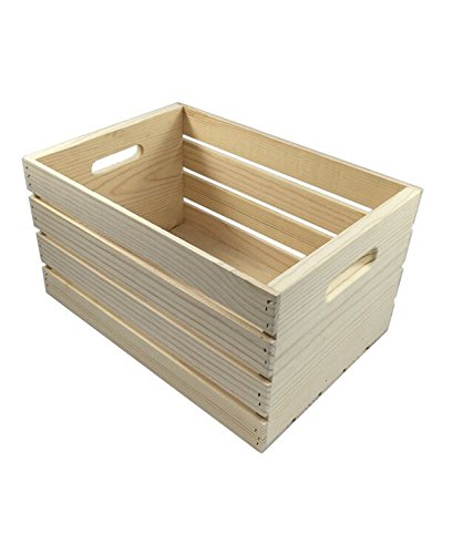 Gift Crate - MPI WOOD Large Crate, Natural, 18