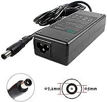 DTK Cargador Adaptador para Ordenador Portátil HP 19V 4.74A 90W Pavilion G6 G7 DV4 DV5 DV6 DV7 G60 G61 Elitebook 8440P 8460P Compaq Presario CQ57 CQ60 ...