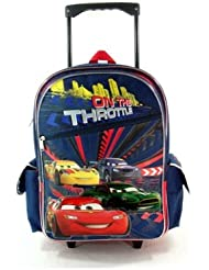 Dianey Cars Rolling BackPack - Disneys Cars Rolling School Bag Large
