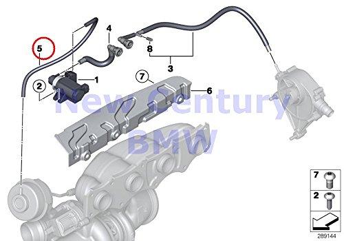 BMW Genuine Vacum Control-Engine-Turbo Charger Vacuum Hose X1 28i X1 28iX Z4 28i 528i 528iX 528i 528iX 228i X3 28iX 320i 320iX 328i 328iX 320i 328i 328i 328iX 328iX 428i 428iX 428i 428iX 328i 328iX (Bmw Hose Vacuum)