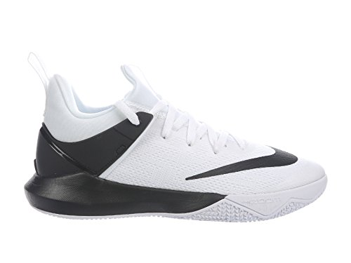 Nike Heren Zoom Shift Nylon Basketbal Schoenen Wit / Zwart