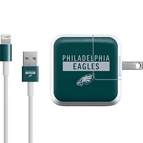 Skinit NFL Philadelphia Eagles iPad Charger (10W USB) Skin - Philadelphia Eagles Green Performance Series Design - Ultra Thin, Lightweight Vinyl Decal Protection ()