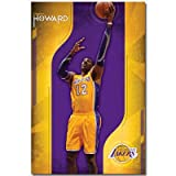 (22x34) Dwight Howard Los Angeles Lakers Poster