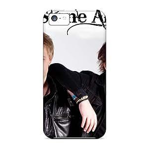 CristinaKlengenberg Iphone 5c Shock-Absorbing Hard Cell-phone Case Customized Lifelike Rolling Stones Image [ibp8045aowP]