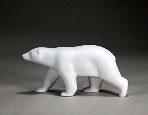 Polar Bear Sculpture by John Perry Pellucida