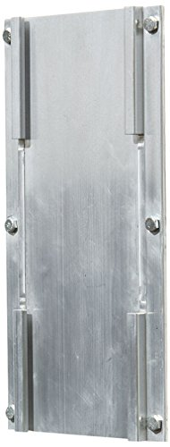 Bison, Inc. Double Adjustable Height Removable Practice Basketball Goal Bracket, Silver
