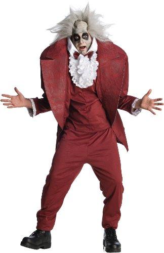 [Shrunken Head Beetlejuice Costume - Standard - Chest Size 46] (Beetlejuice Costume Mens)