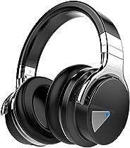 COWIN E7 Active Noise Cancelling Headphones Bluetooth Headphones with Microphone Deep Bass Wireless Headphones