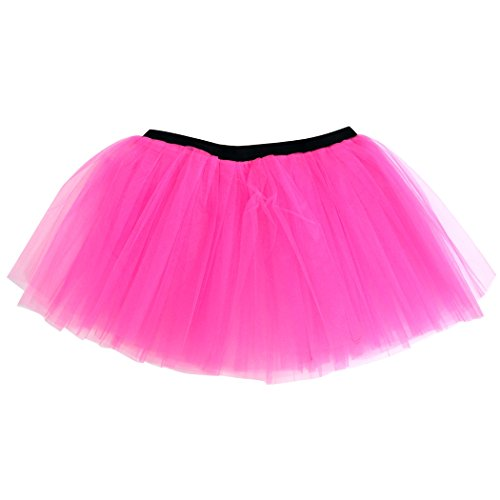 Runners Tutu by Gone For a Run | Lightweight | One Size Fits Most | Neon Pink (Neon Tutu For Women)