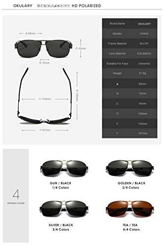 Gafas Sol de Personalidad Marco los los Color Hombres Moda de 4 Go 2 de Sol polarizado Shopping de Hombres Easy el Gafas conducen de Que HD xXBFEqIU