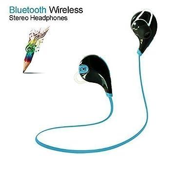 YUNTAB Auriculares Inalámbricos Bluetooth 4.0 estéreo para Correr,running,Deporte con cancelación de ruido