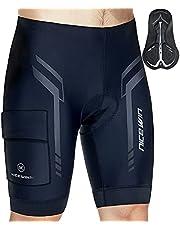 Bermuda de ciclismo/motociclismo, andar de bicicleta, acolchoados 3D, de secagem rápida, bermuda para homem NICEWIN