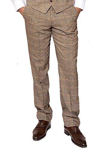 Marc Darcy - Pantalon - Pantalon - Homme marron peau 42R