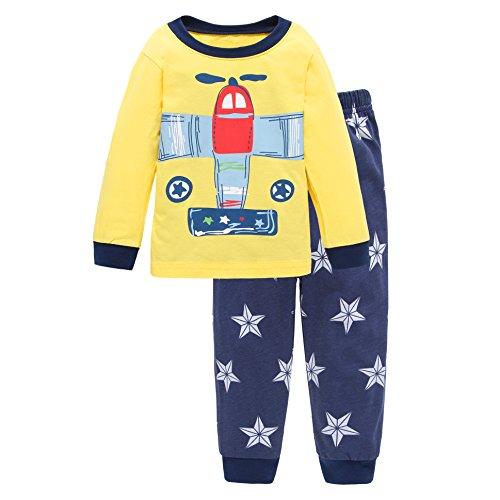 New 2 Piece Boys Pajamas - 4