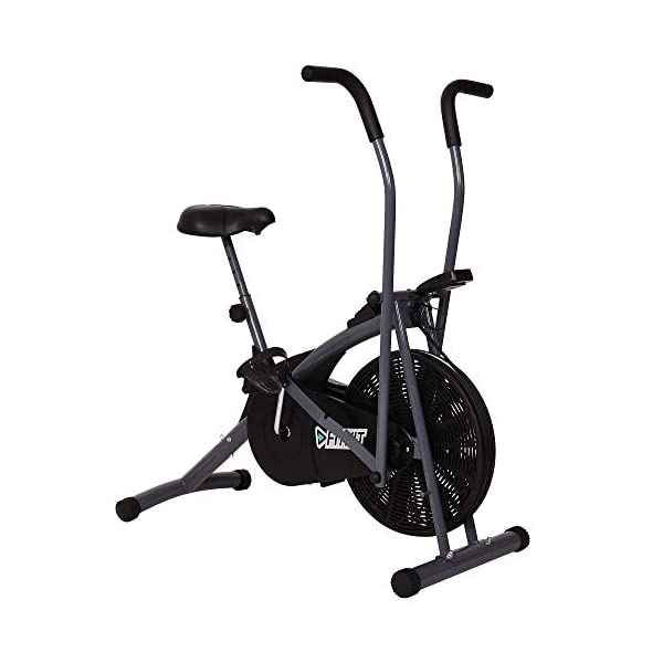 Fitkit FK600 Steel Air bike with Free Diet Plan