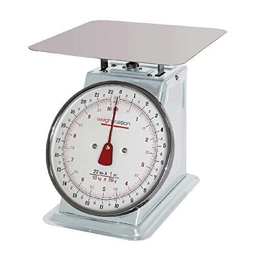 Weightstation Plattform mit einem K/örpergewicht von Skala 10 kg silberfarben