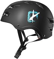 Automoness Skateboard Helmet,Adjustable Skate Helmet for Youth Adults Teens,Multisport Helmets for Skateboardi