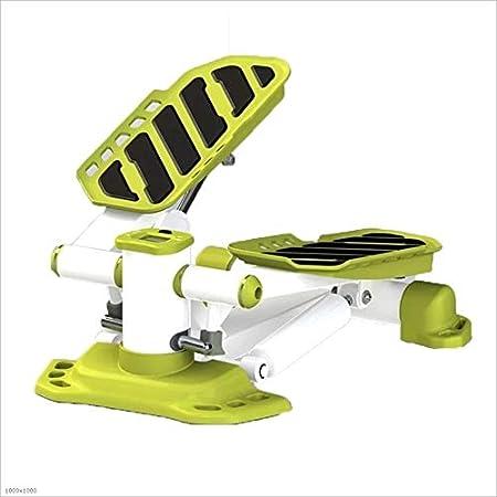 ZoSiP Máquinas de Step Aptitud Escalera Paso a Paso for la Mujer y el Hombre Mini de Pasos de Fitness Ejercicio Cardio Trainer (Color : Green, Size : 47.5x31.5x19cm): Amazon.es: Hogar