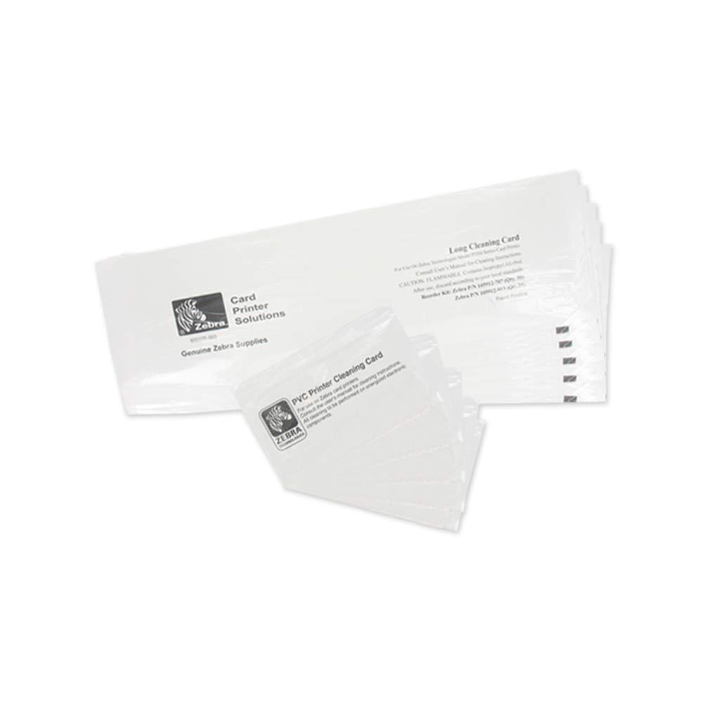 Amazon Com Zebra P330i P430i Cleaning Card Kit 105912 913 Industrial Scientific