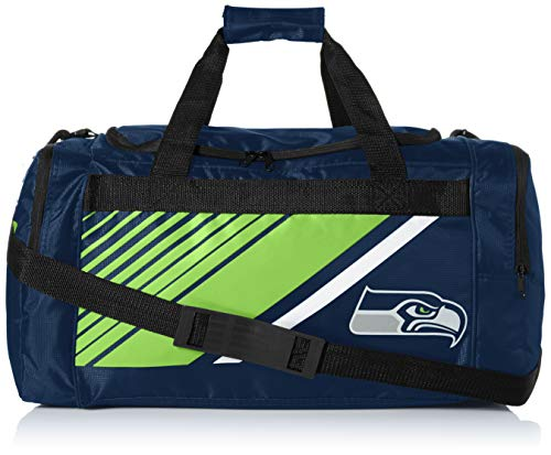 Seattle Seahawks Border Stripe Duffle Bag
