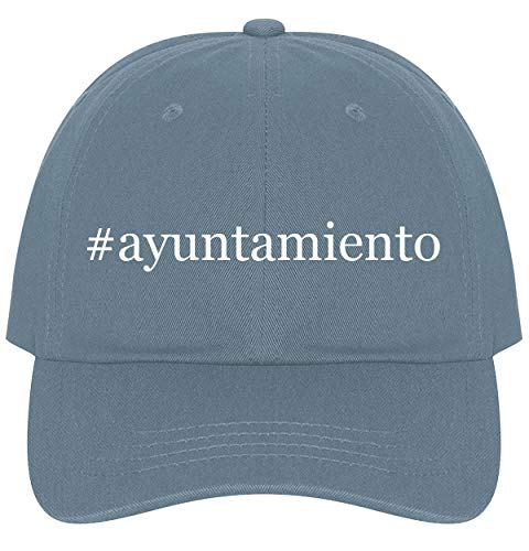 (The Town Butler #Ayuntamiento - A Nice Comfortable Adjustable Hashtag Dad Hat Cap, Light Blue, One Size)