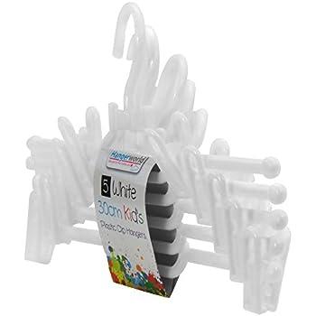 Amazon.com: Hangerworld – Juego de perchas de plástico con ...