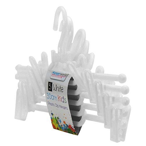 5 Pack Plastic Hangers - 3