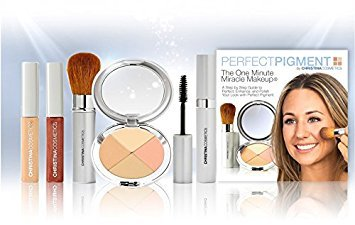 Perfect Pigment Cosmetics - Christina Cosmetics Perfect Pigment 1: FULL SIZE 7 PIECE KIT - For Fair, Light or Medium complexions