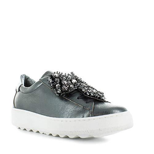Gun Bow 2019 Zapatilla Zapatos De Model Invierno Otoño Metal Philippe Mujer Madeleine Hw67nYTq
