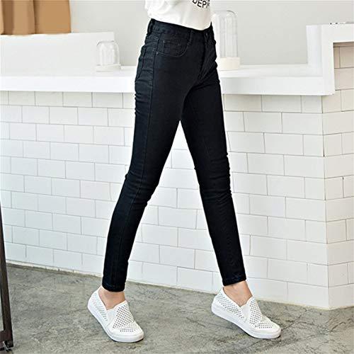 Jeans Slim Mince Femmes Haute Stretch Les Delicacydex pour Denim Leggings Skinny Taille Mode Pantalon Imitation Crayon lastique Jeans Haute U0E5qqcfxw