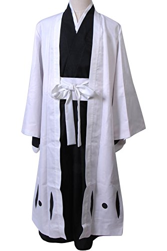 Ulquiorra Cifer Costume (Cosplaybar Cosplay Costume Bleach 4th Division Captain Unohana Retsu Tailor Made)