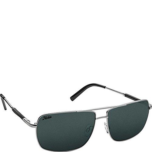 (Hobie Eyewear McWay Sunglasses (Shiny Gunmetal Frame/Grey Polarized Pc Lens))
