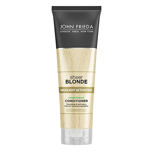 John Frieda Sheer Blonde Highlight Activating Enhancing Conditioner (for Lighter Blondes), 8.45 Ounces (Pack of 2) (Shampoo Frieda John Blond)