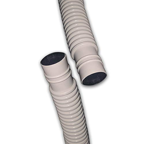 20 Ft Drain Hose for Ductless Mini Split Air Conditioner Heat Pump Systems; 5/8 ID UV Resistant