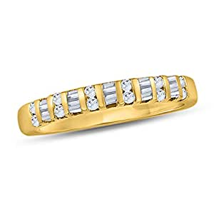 Revere Women's 18k Solid Yellow Gold Band Ring