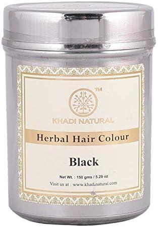 Buy Khadi Natural Herbal Hair Color Black 150g Online At Low