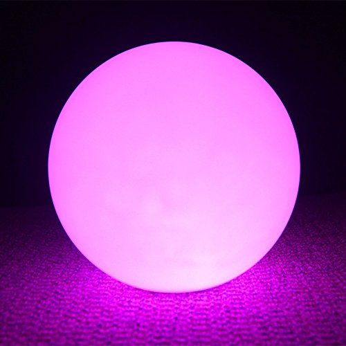 12 Quot Ultra Fun Waterproof Floating Rgb Globe Light Led Color Changing Ball Orb With Remote Control 16 Colors 4 Modes Great For Night Light Home