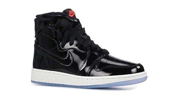 new product ecf9c fa815 Nike Womens Air Jordan 1 Rebel XX (Black/Black-Infrared 23 ...